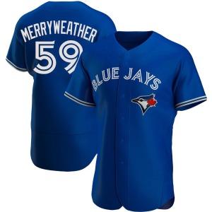 Julian Merryweather Toronto Blue Jays Authentic Alternate Jersey - Royal