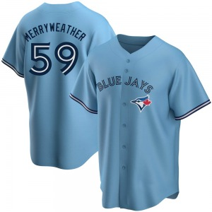 Julian Merryweather Toronto Blue Jays Youth Replica Powder Alternate Jersey - Blue