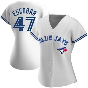 Kelvim Escobar Toronto Blue Jays Women's Replica Home Jersey - White