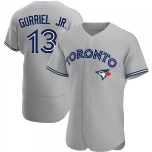 Lourdes Gurriel Jr. Toronto Blue Jays Authentic Road Jersey - Gray