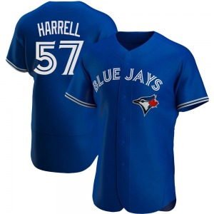 Lucas Harrell Toronto Blue Jays Authentic Alternate Jersey - Royal