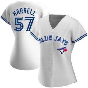 Lucas Harrell Toronto Blue Jays Women's Replica Home Jersey - White