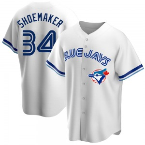 Matt Shoemaker Toronto Blue Jays Youth Replica Home Cooperstown Collection Jersey - White