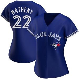 Mike Matheny Toronto Blue Jays Women's Authentic Alternate Jersey - Royal