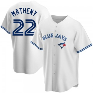 Mike Matheny Toronto Blue Jays Youth Replica Home Jersey - White