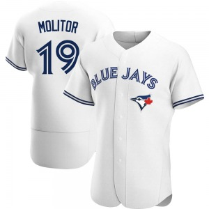 Paul Molitor Toronto Blue Jays Authentic Home Jersey - White
