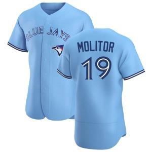 Paul Molitor Toronto Blue Jays Authentic Powder Alternate Jersey - Blue