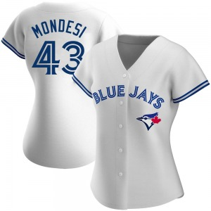 Raul Mondesi Toronto Blue Jays Women's Replica Home Jersey - White