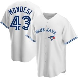 Raul Mondesi Toronto Blue Jays Youth Replica Home Jersey - White