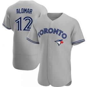 Roberto Alomar Toronto Blue Jays Authentic Road Jersey - Gray