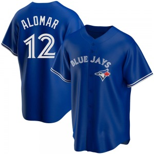 Roberto Alomar Toronto Blue Jays Youth Replica Alternate Jersey - Royal