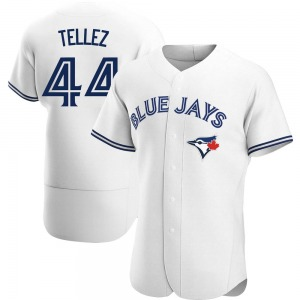 Rowdy Tellez Toronto Blue Jays Authentic Home Jersey - White