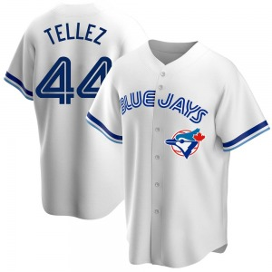 Rowdy Tellez Toronto Blue Jays Replica Home Cooperstown Collection Jersey - White