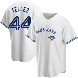 Rowdy Tellez Toronto Blue Jays Replica Home Jersey - White