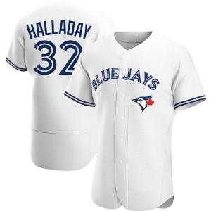 Roy Halladay Toronto Blue Jays Authentic Home Jersey - White