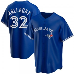 Roy Halladay Toronto Blue Jays Replica Alternate Jersey - Royal