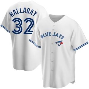 Roy Halladay Toronto Blue Jays Replica Home Jersey - White