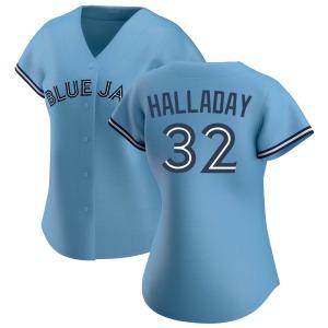 Roy Halladay Toronto Blue Jays Women's Replica Jersey - Blue