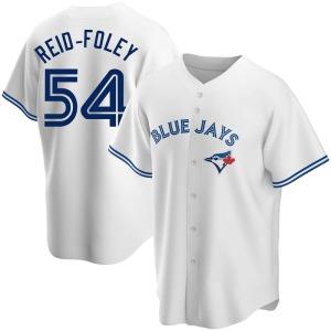 Sean Reid-Foley Toronto Blue Jays Replica Home Jersey - White