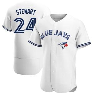 Shannon Stewart Toronto Blue Jays Authentic Home Jersey - White