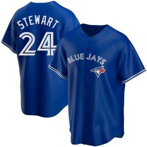 Shannon Stewart Toronto Blue Jays Replica Alternate Jersey - Royal