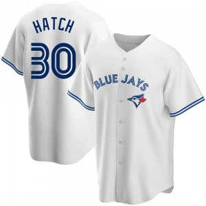 Thomas Hatch Toronto Blue Jays Youth Replica Home Jersey - White