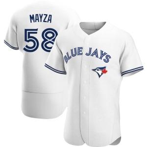 Tim Mayza Toronto Blue Jays Authentic Home Jersey - White