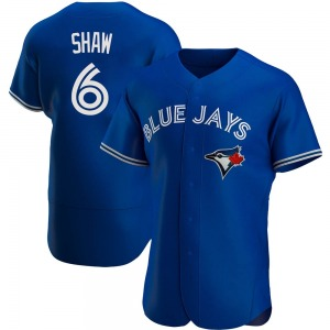 Travis Shaw Toronto Blue Jays Authentic Alternate Jersey - Royal