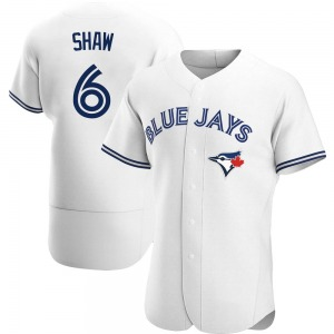 Travis Shaw Toronto Blue Jays Authentic Home Jersey - White