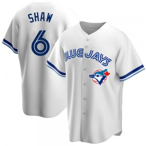 Travis Shaw Toronto Blue Jays Replica Home Cooperstown Collection Jersey - White