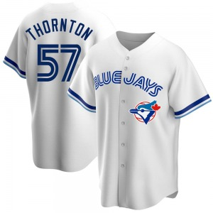 Trent Thornton Toronto Blue Jays Replica Home Cooperstown Collection Jersey - White
