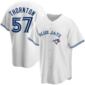 Trent Thornton Toronto Blue Jays Replica Home Jersey - White