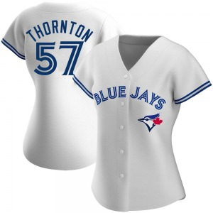 Trent Thornton Toronto Blue Jays Women's Authentic Home Jersey - White