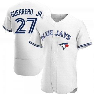 Vladimir Guerrero Jr. Toronto Blue Jays Authentic Home Jersey - White
