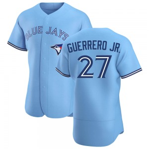 Vladimir Guerrero Jr. Toronto Blue Jays Authentic Powder Alternate Jersey - Blue