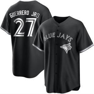 Vladimir Guerrero Jr. Toronto Blue Jays Replica Black/ Jersey - White