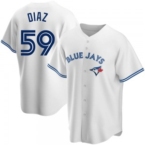 Yennsy Diaz Toronto Blue Jays Youth Replica Home Jersey - White