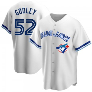 Zack Godley Toronto Blue Jays Youth Replica Home Cooperstown Collection Jersey - White