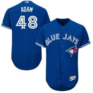 Jason Adam Toronto Blue Jays Authentic Flex Base Alternate Collection Majestic Jersey - Royal Blue