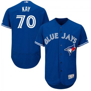 Anthony Kay Toronto Blue Jays Authentic Flex Base Alternate Collection Majestic Jersey - Royal Blue