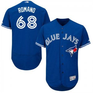 Jordan Romano Toronto Blue Jays Authentic Flex Base Alternate Collection Majestic Jersey - Royal Blue