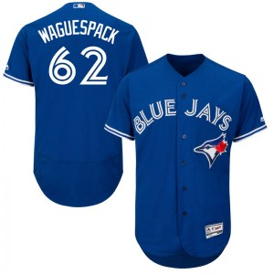 Jacob Waguespack Toronto Blue Jays Authentic Flex Base Alternate Collection Majestic Jersey - Royal Blue