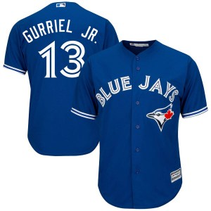 Lourdes Gurriel Jr. Toronto Blue Jays Youth Replica Cool Base Alternate Majestic Jersey - Royal Blue