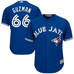 Juan Guzman Toronto Blue Jays Youth Replica Cool Base Alternate Majestic Jersey - Royal Blue