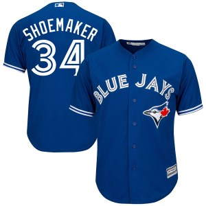 Matt Shoemaker Toronto Blue Jays Youth Replica Cool Base Alternate Majestic Jersey - Royal Blue