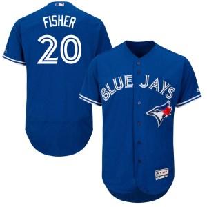 Derek Fisher Toronto Blue Jays Youth Authentic Flex Base Alternate Collection Majestic Jersey - Royal Blue