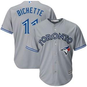 Bo Bichette Toronto Blue Jays Replica Cool Base Road Majestic Jersey - Gray
