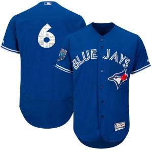 Marcus Stroman Toronto Blue Jays Authentic Flex Base 2018 Spring Training Majestic Jersey - Royal