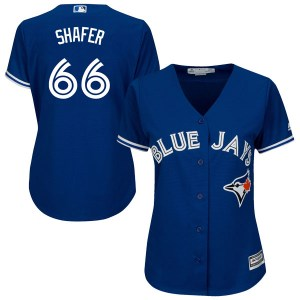 Justin Shafer Toronto Blue Jays Women's Authentic Cool Base Alternate Majestic Jersey - Royal Blue