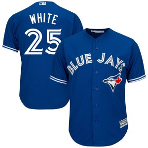Devon White Toronto Blue Jays Youth Authentic Cool Base Alternate Majestic Jersey - Royal Blue
